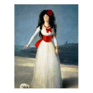 The Duchess of Alba, 1795 Postcard
