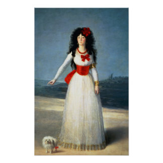 The Duchess of Alba, 1795 Poster
