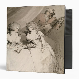 The Duchess of Devonshire and her Sister, the Coun 3 Ring Binder