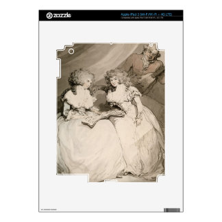 The Duchess of Devonshire and her Sister, the Coun iPad 3 Skin