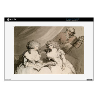The Duchess of Devonshire and her Sister, the Coun Laptop Skin
