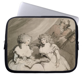 The Duchess of Devonshire and her Sister, the Coun Laptop Sleeve