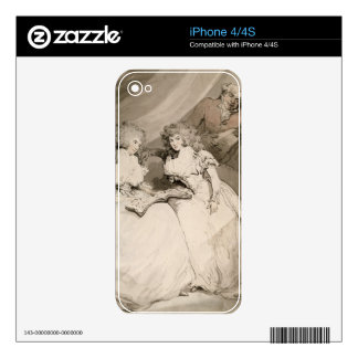The Duchess of Devonshire and her Sister, the Coun Skin For The iPhone 4S