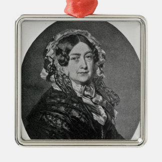 The Duchess of Kent Metal Ornament
