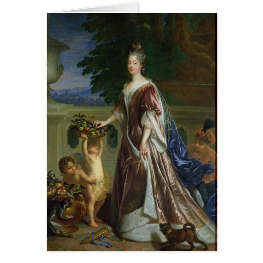 The Duchess of Maine Greeting Cards