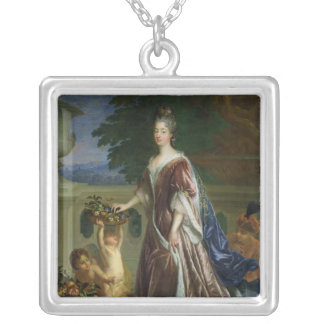 The Duchess of Maine Square Pendant Necklace