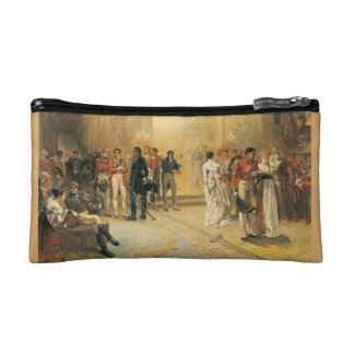 The Duchess of Richmond's Ball, 1815. double-sided Cosmetic Bags