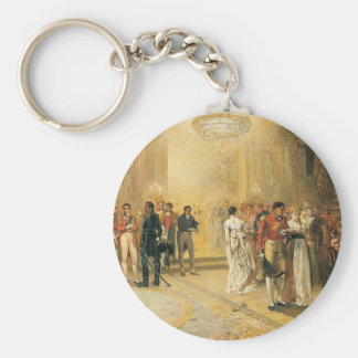 The Duchess of Richmond's Ball in 1815 Keychain