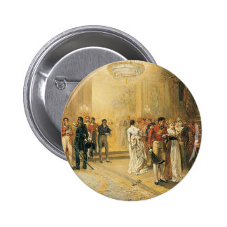 The Duchess of Richmond's Ball in 1815 Pinback Button