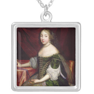 The Duchess of Savoy Square Pendant Necklace