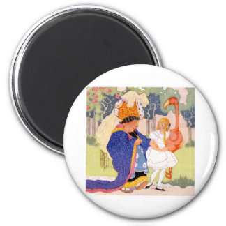 The Duchess Offers Alice Flamingo Croquet Tips Refrigerator Magnets
