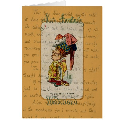 The Duchess Smiling Greeting Card Card