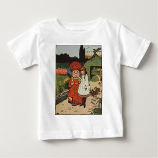 The Duchess walking in Gardens with Alice Baby T-Shirt
