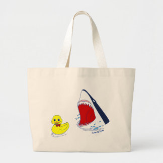 The Duck and The Shark Doodle Art Bag