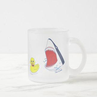 The Duck and The Shark Mug