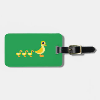 The Duck Family Luggage Tag