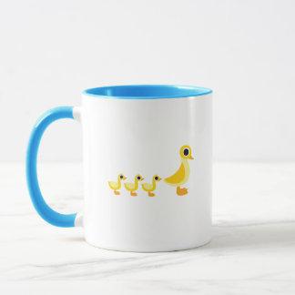 The Duck Family Mug