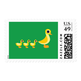 The Duck Family Postage