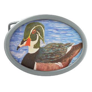 The Duck Oval Belt Buckle