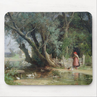 The Duck Pond Mouse Pad