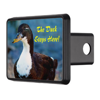 The Duck Stops Here! Tow Hitch Covers
