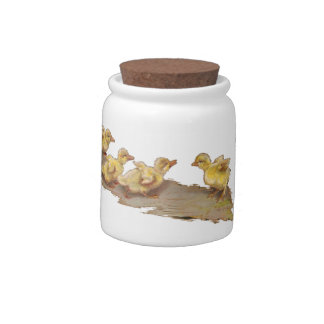 The Ducklings Candy Jars
