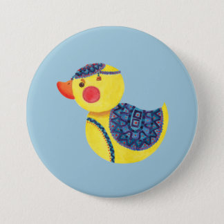 The Ducky Duck Pinback Button
