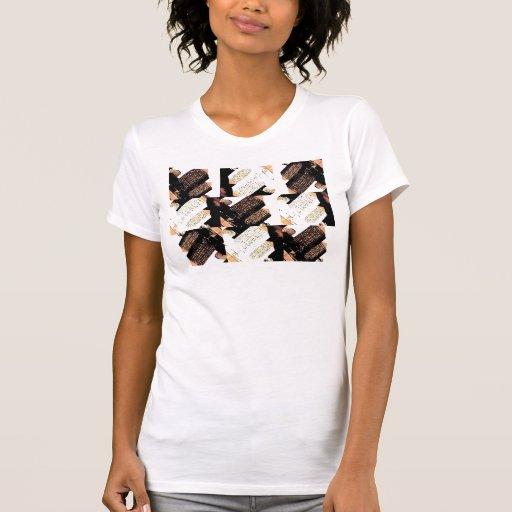 the dude abides girls argyle T-Shirt