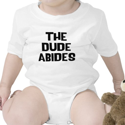 The Dude Abides Rompers