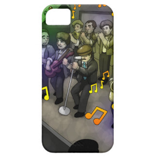 The Dude and His Band by Ram Lama iPhone 5 Cases