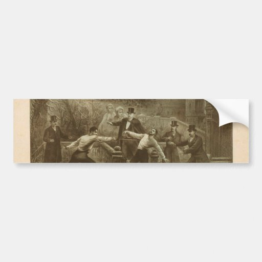 The Duel in the Snow, 'The Banker's Daughter' Car Bumper Sticker