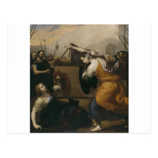 The Duel of Women (The Duel of Isabella de Carazzi Postcard