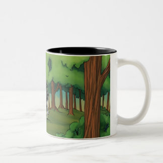 The Duel Two-Tone Coffee Mug