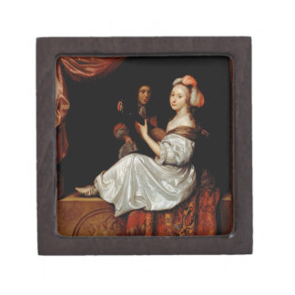 The Duet, 1665 (oil on canvas) Gift Box