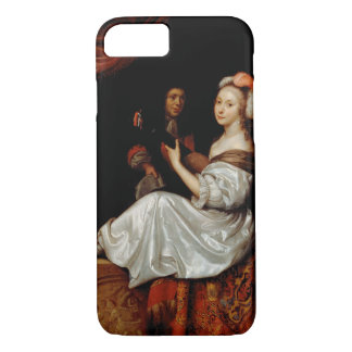 The Duet, 1665 (oil on canvas) iPhone 7 Case