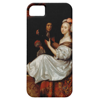 The Duet, 1665 (oil on canvas) iPhone SE/5/5s Case