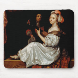 The Duet, 1665 (oil on canvas) Mouse Pad