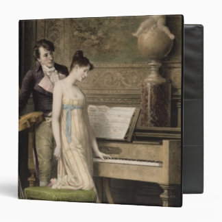 The Duet (mezzotint) Binder