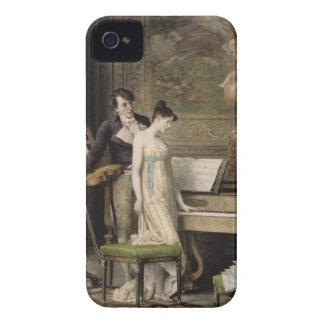The Duet (mezzotint) iPhone 4 Cover