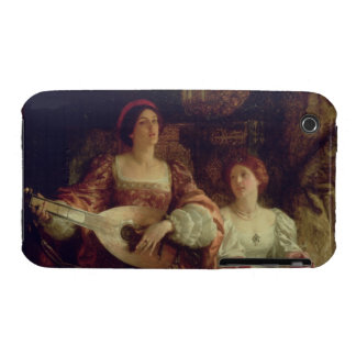 The Duet (oil on canvas) iPhone 3 Cover