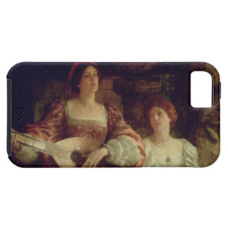 The Duet (oil on canvas) iPhone 5 Cover