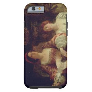 The Duet (oil on canvas) Tough iPhone 6 Case