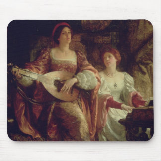 The Duet (oil on canvas) Mouse Pad