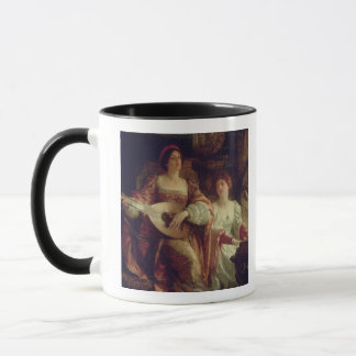 The Duet (oil on canvas) Mug