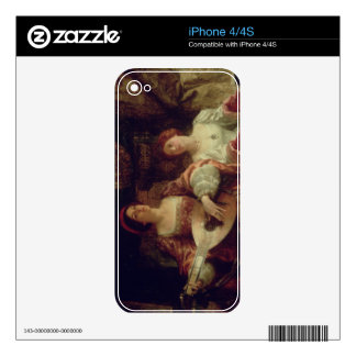 The Duet (oil on canvas) Skins For iPhone 4S