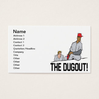 The Dugout Business Card