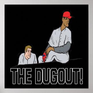 The Dugout Print