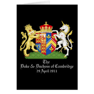 The Duke and Duchess of Cambridge Card