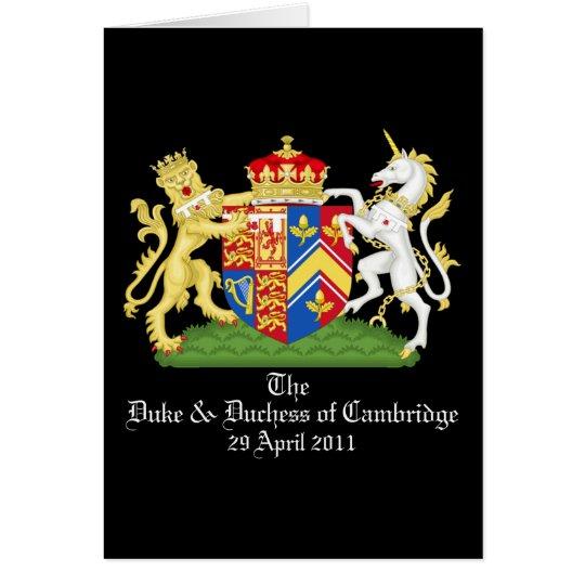 The Duke and Duchess of Cambridge Card