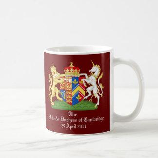 The Duke and Duchess of Cambridge Classic White Coffee Mug